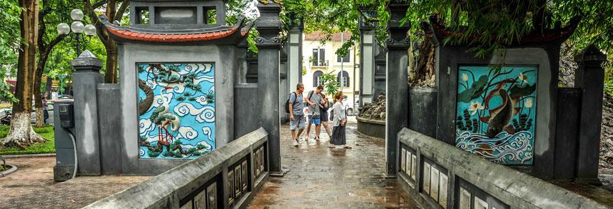 la ville Hanoi, Vietnam